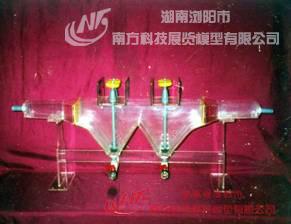大型污水处理厂总体布置立体模型1