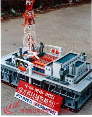 胜利二号座底式移动钻井石油平台www.yzc888.com